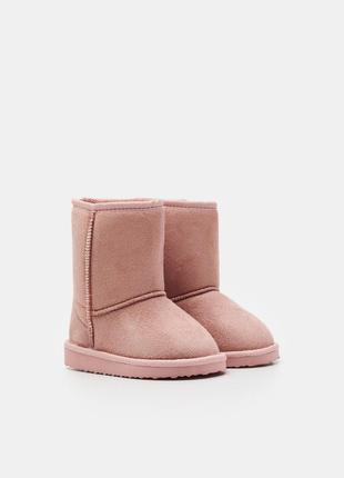 Ботинки сапожки утепленные от sinsay
