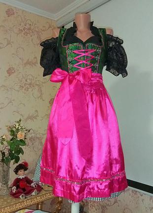 Дирндль платье на октоберфест баварское платье