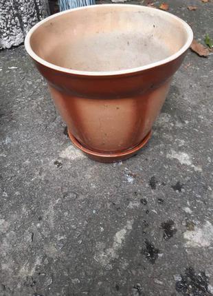 Горшок керамика для вазонов