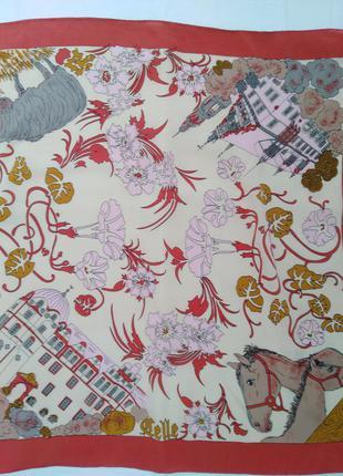 Коллекционный шелковый платок.