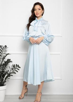 Шовкова сукня