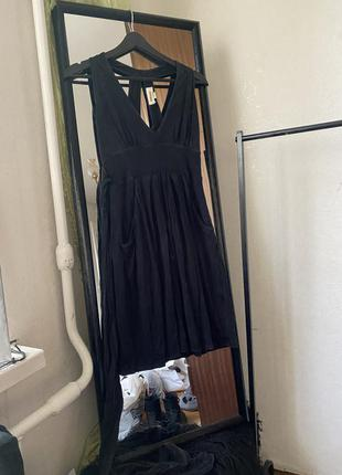Нежное вискозное платье diesel с поясом