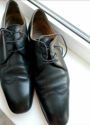 Туфли кожа италия, большой размер