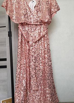 Шикарна сукня з паєтками