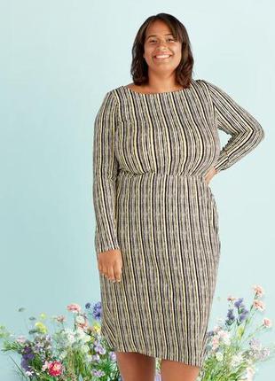Распродажа супер батал грудь 140+см платье женское из мягкой вискозы р.хl и xxxl от esmara,