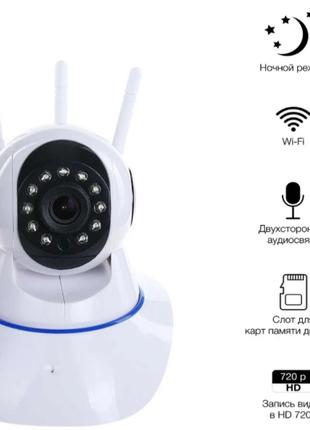 Видеоняня wi-fi с датчиком движения baby monitor