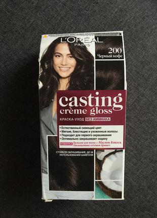 Краска для волос l'oreal casting creme gloss 200