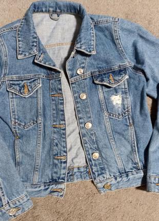 Джинсова куртка , джинсовая куртка