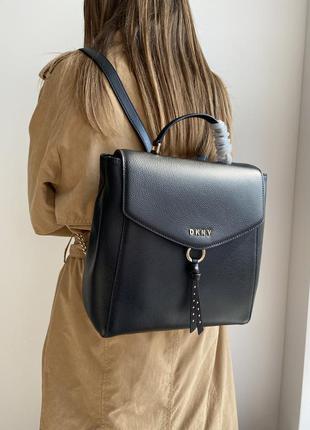 Рюкзак dkny рюкзачок рюкзачёк donna karan dkny оригинал кожаный кожа оригинал жіночий