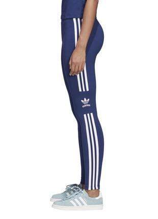 Лосины в синем цвете adidas