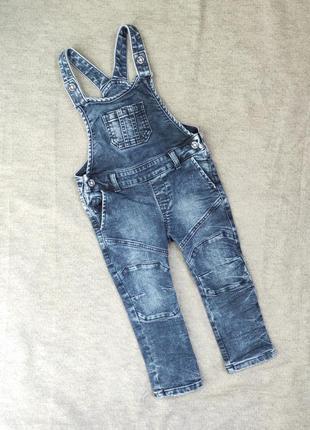 Комбинезон джинсовый на 1,5-2 года