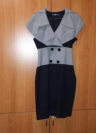 Стильное платье pole&pole клетка