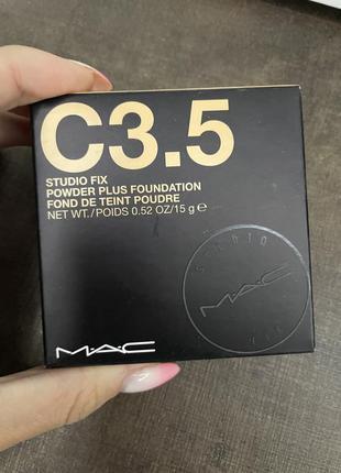 Компактная пудра mac