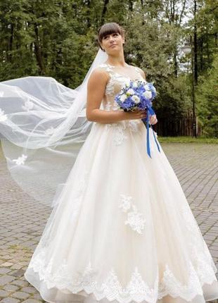 Плаття весільне millanova