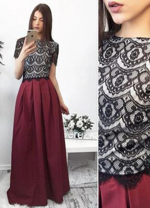 Костюм платье топ