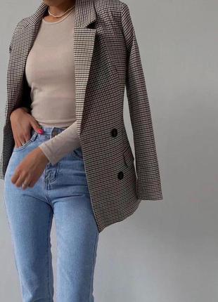 Базовый женский классический пиджак