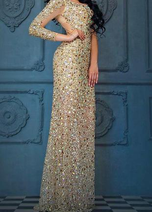 Продаю шикарное вечернее платье фирмы jovani