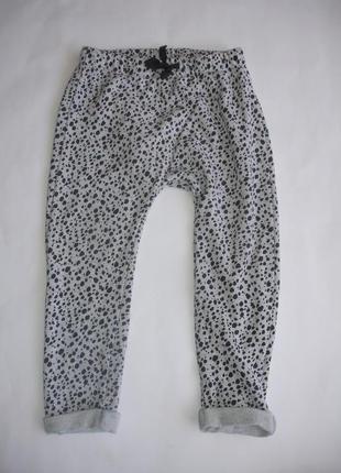 Фирменные next теплые спортивные штаны унисекс 3-4 года хлопок идеал