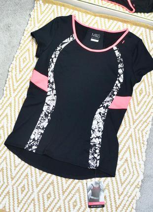 Новая футболка для фитнеса marks & spencer