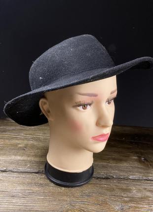 Шляпа фетровая british hat guild, черная