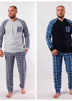 Теплая мужская пижама рр 44-62