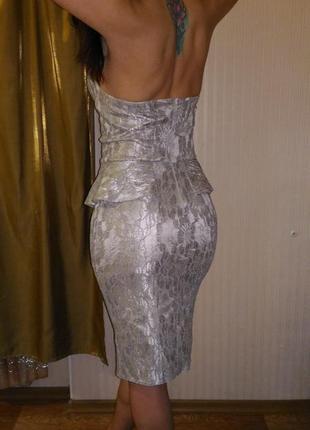 Коктельное платье из дорогого гипюра - эксклюзив