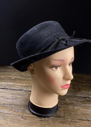 Шляпа фетровая nagy wien, черная