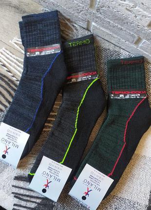 3 пары носки термо мужские термоноски 42-45