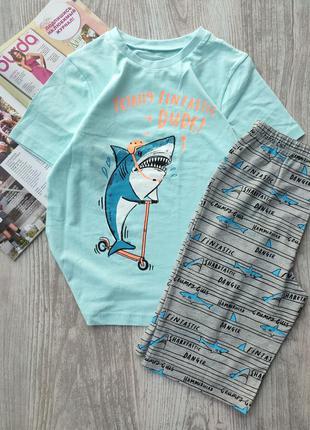 Пижама, комплект, пижамка