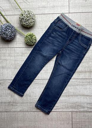 Стильные джинсы levis 36 3 98 синие скинни skinny