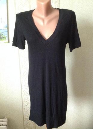 Платье туника приятный трикотаж