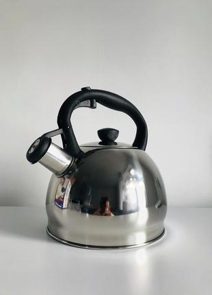 Чайник, чайник для плиты 2л, металлический чайник, металевий чайник.