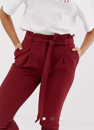 New look plus size шикарные брюки на завышенной талии 24р.