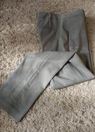Теплые брюки, шерсть, классика, премиум качество, меланж