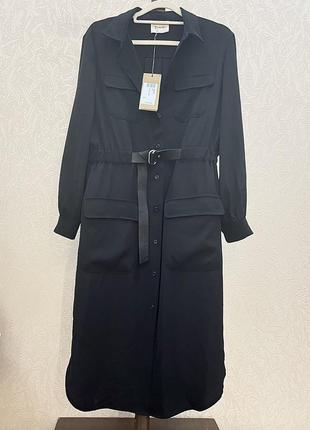 Платье рубашка с поясом италия dixie imperial