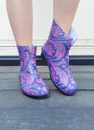 Резиновые сапоги женские резинові чоботи гумові 36-41