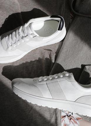 Massimo dutti оригинал кроссовки 100% натуральная кожа в наличии