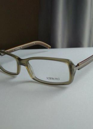 Распродажа  фирменная оправа под линзы, очки оригинал iceberg ic09002 новая