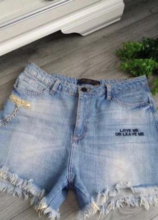 Шорти джинсовые