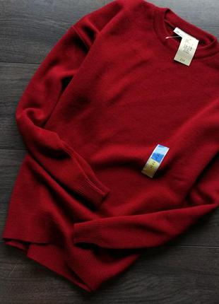 ▪ новый красный  свитер 100% акрил