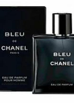 Мужская парфюмированная вода bleu de parfume pour homme 100 мл