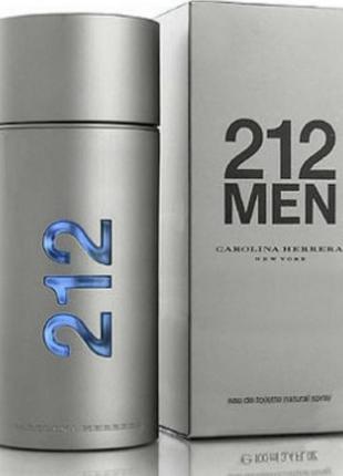 Туалетная вода мужская 212 men  100 мл