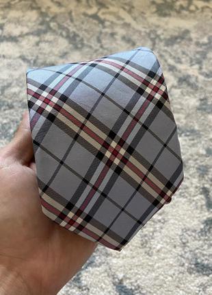 Итальянский клетчатый галстук frahgi