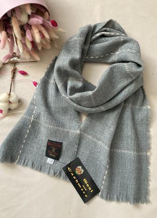 Шерсть 100% шарф   шерстяной германия woll &cashmire