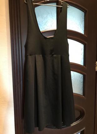 Чёрный свободный сарафан от итальянского бренда imperial