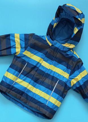 Термокуртка зимняя лыжная куртка lupilu