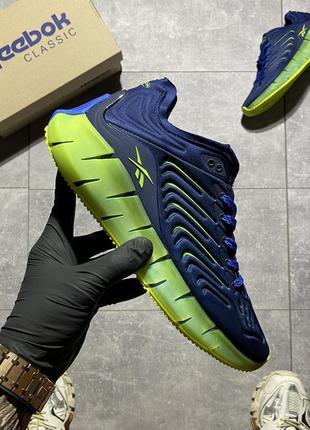 Кросівки reebok zig kinetica conor mcgregor blue