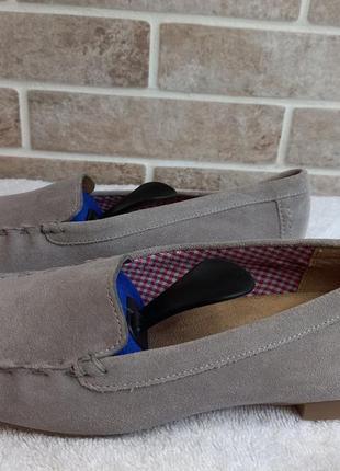 Туфли мокасины лоферы женские sioux 38-39р