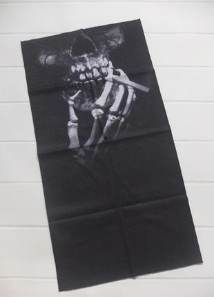 Бафф бандана-трансформер, шарф из микрофибры