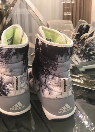 Ботинки кроссовки зимние adidas